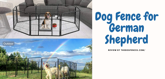 dog fence for german shepherd